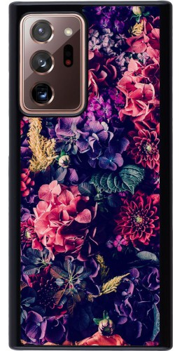 Coque Samsung Galaxy Note 20 Ultra - Flowers Dark