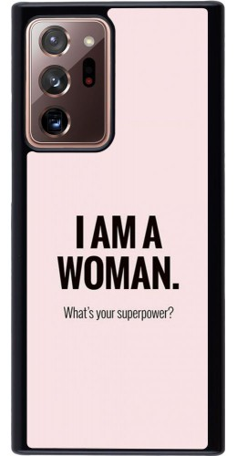 Coque Samsung Galaxy Note 20 Ultra - I am a woman