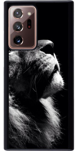 Coque Samsung Galaxy Note 20 Ultra - Lion looking up