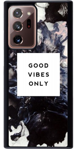Coque Samsung Galaxy Note 20 Ultra - Marble Good Vibes Only