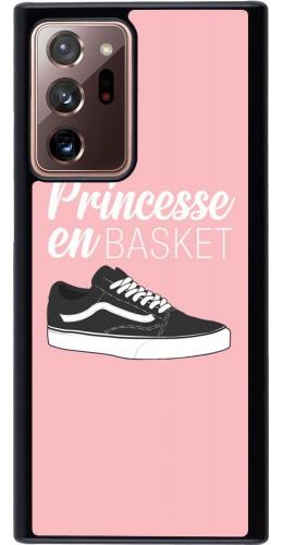 Coque Samsung Galaxy Note 20 Ultra - princesse en basket