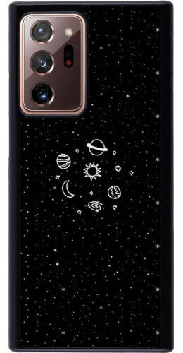 Coque Samsung Galaxy Note 20 Ultra - Space Doodle