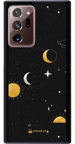 Coque Samsung Galaxy Note 20 Ultra - Space Vector