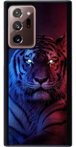 Coque Samsung Galaxy Note 20 Ultra - Tiger Blue Red