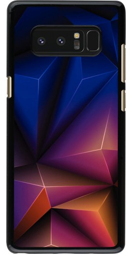 Coque Samsung Galaxy Note8 - Abstract Triangles