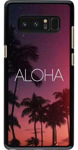 Coque Samsung Galaxy Note8 - Aloha Sunset Palms