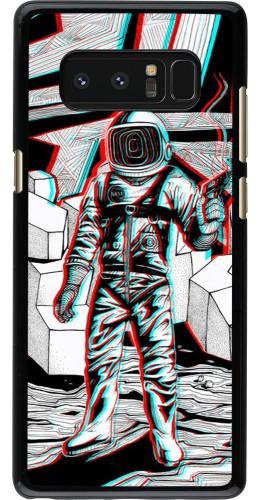 Coque Samsung Galaxy Note8 - Anaglyph Astronaut