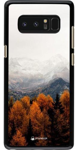 Coque Samsung Galaxy Note8 - Autumn 21 Forest Mountain