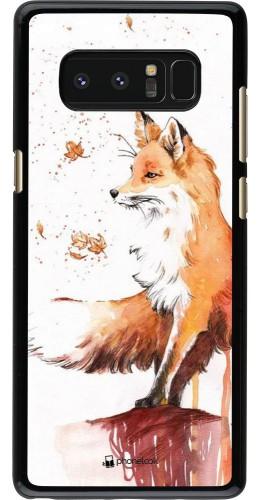 Coque Samsung Galaxy Note8 - Autumn 21 Fox