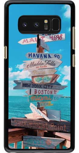 Coque Samsung Galaxy Note8 - Cool Cities Directions