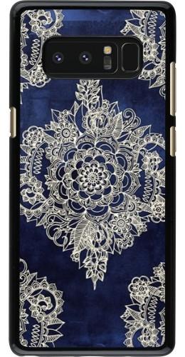 Coque Galaxy Note 8 - Cream Flower Moroccan
