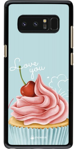 Coque Samsung Galaxy Note8 - Cupcake Love You