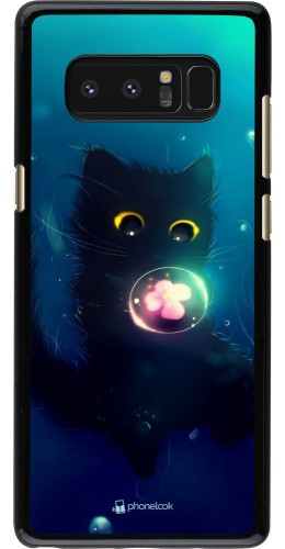 Coque Samsung Galaxy Note8 - Cute Cat Bubble