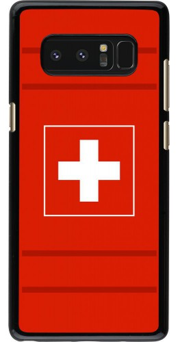 Coque Samsung Galaxy Note8 - Euro 2020 Switzerland