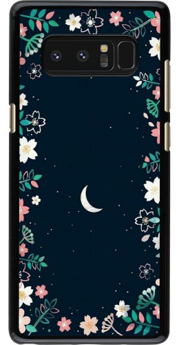 Coque Samsung Galaxy Note8 - Flowers space