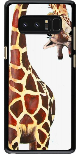 Coque Samsung Galaxy Note8 - Giraffe Fit