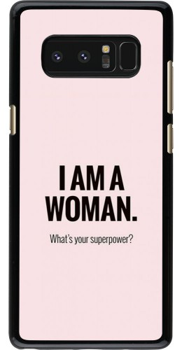 Coque Samsung Galaxy Note8 - I am a woman