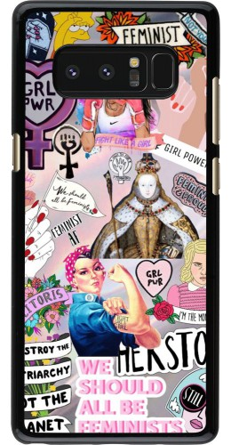Coque Samsung Galaxy Note8 - Girl Power Collage