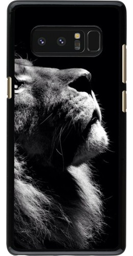 Coque Samsung Galaxy Note 8 - Lion looking up