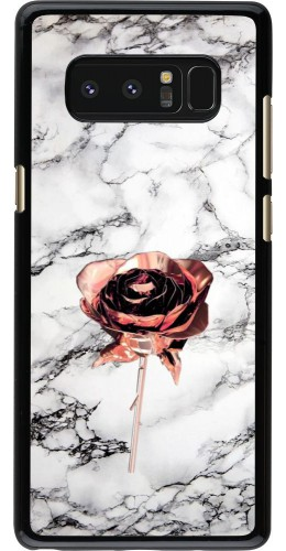 Coque Samsung Galaxy Note8 - Marble Rose Gold