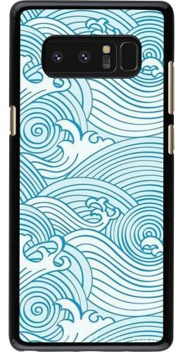 Coque Samsung Galaxy Note8 - Ocean Waves