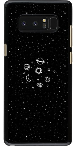 Coque Galaxy Note8 - Space Doodle