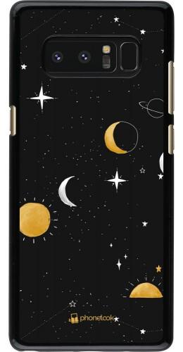 Coque Samsung Galaxy Note8 - Space Vector