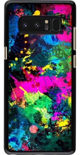 Coque Samsung Galaxy Note8 - splash paint