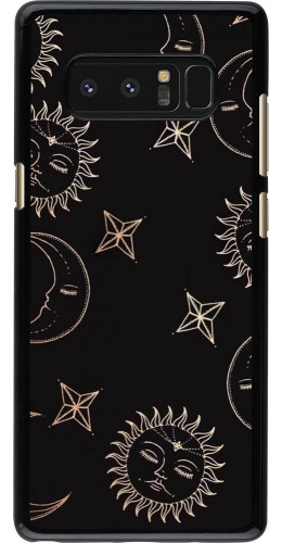 Coque Samsung Galaxy Note8 - Suns and Moons