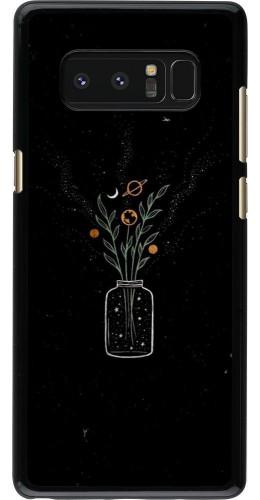 Coque Samsung Galaxy Note8 - Vase black