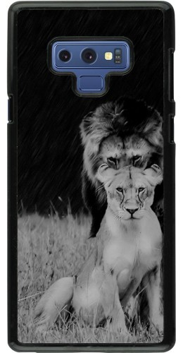 Coque Samsung Galaxy Note9 - Angry lions