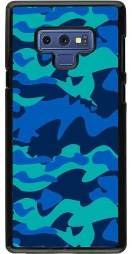 Coque Samsung Galaxy Note9 - Camo Blue