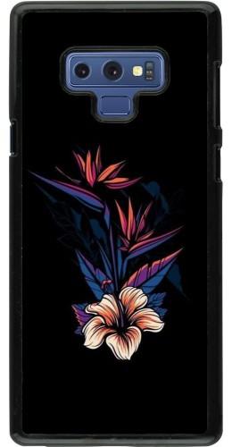 Coque Samsung Galaxy Note9 - Dark Flowers