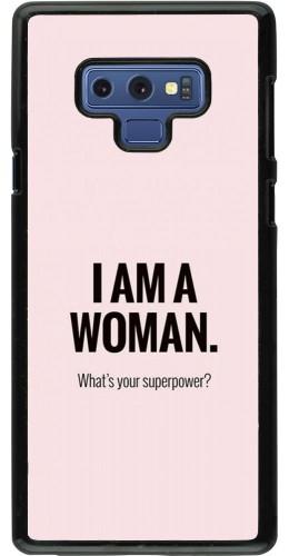 Coque Samsung Galaxy Note9 - I am a woman