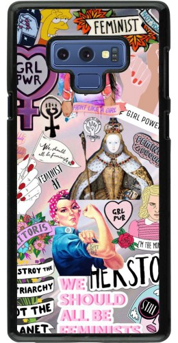 Coque Samsung Galaxy Note9 - Girl Power Collage