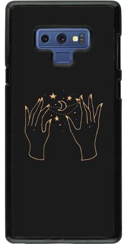 Coque Samsung Galaxy Note9 - Grey magic hands