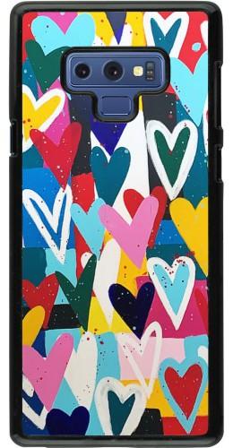 Coque Samsung Galaxy Note9 - Joyful Hearts