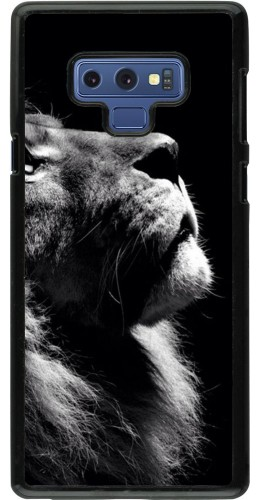 Coque Samsung Galaxy Note9 - Lion looking up