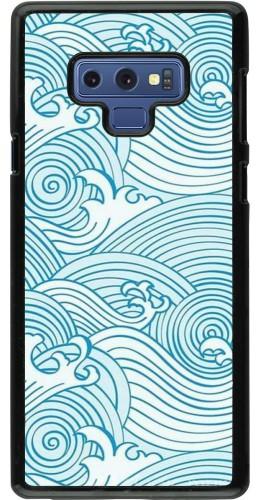 Coque Samsung Galaxy Note9 - Ocean Waves