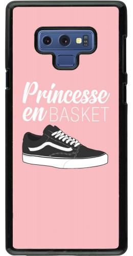 Coque Samsung Galaxy Note9 - princesse en basket