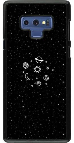 Coque Samsung Galaxy Note9 - Space Doodle