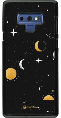 Coque Samsung Galaxy Note9 - Space Vector