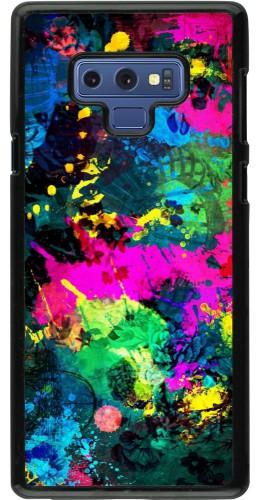 Coque Samsung Galaxy Note9 - splash paint