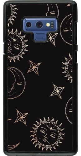 Coque Samsung Galaxy Note9 - Suns and Moons