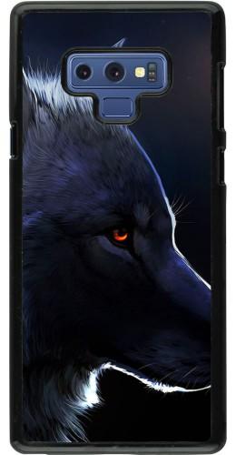 Coque Samsung Galaxy Note9 - Wolf Shape