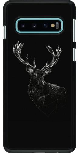 Coque Samsung Galaxy S10 - Abstract deer