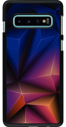 Coque Samsung Galaxy S10 - Abstract triangles