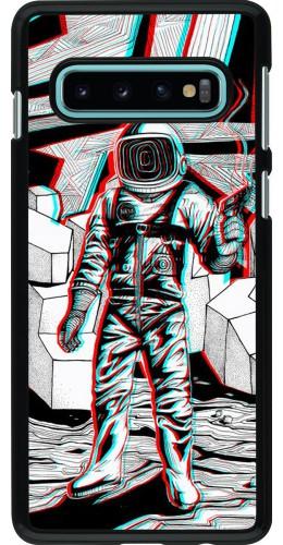 Coque Samsung Galaxy S10 - Anaglyph Astronaut