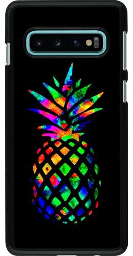 Coque Samsung Galaxy S10 - Ananas Multi-colors