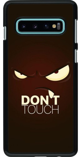 Coque Samsung Galaxy S10 - Angry Dont Touch